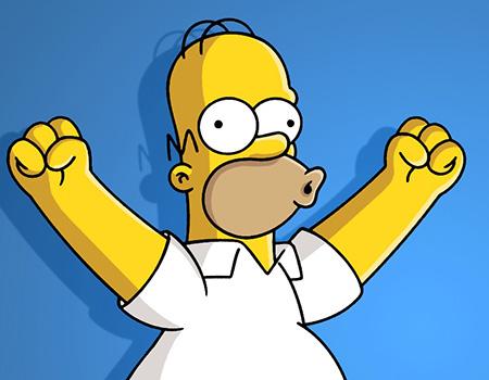 Homer yuhu