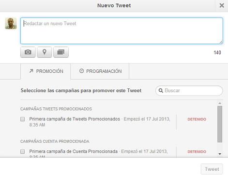 tweet programado