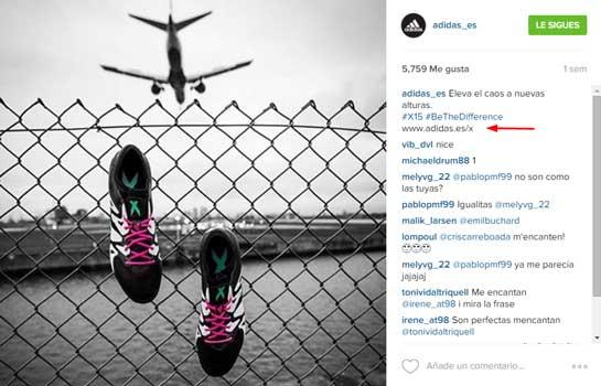 instagram adidas