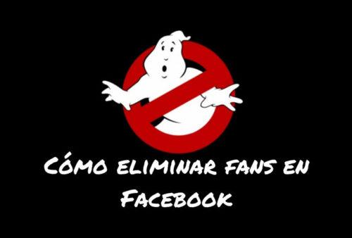 eliminar fans fan page