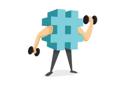 uso hashtags redes sociales